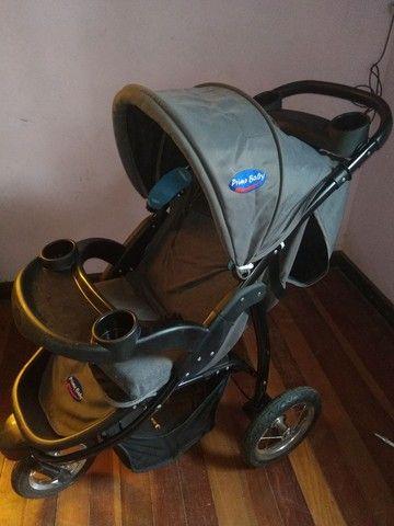 Carrinho de bebê prime baby - Foto 2