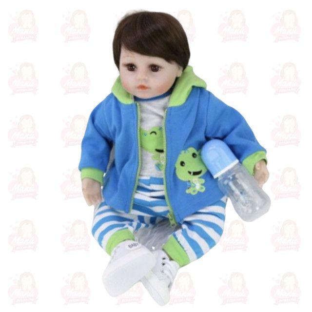 Bebê Reborn menino menininho pronta entrega super fofo - Foto 5
