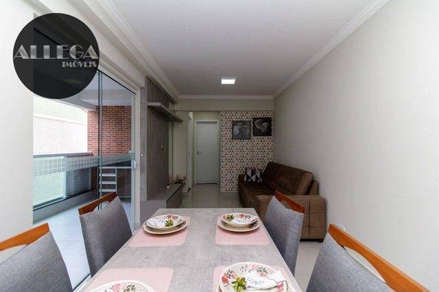 Apartamento com 2 dormitórios à venda, 59 m² por R$ 364.000,00 - Fanny - Curitiba/PR - Foto 9