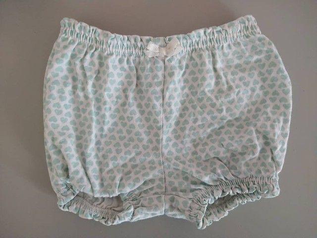 Kit com 2 shorts de elástico tipo bolha da Carters<br><br> - Foto 3