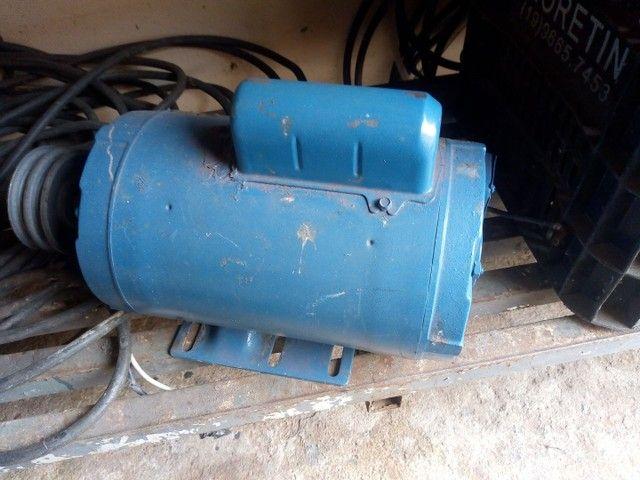 Motor elétrico de 3cv  alta 3450 rpm  monofásico
