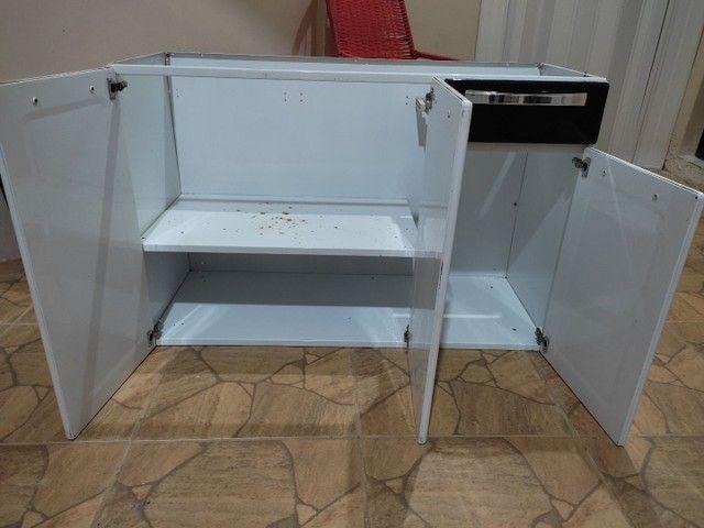 Balcazinho de cozinha ITATIAIA sem mesa - Foto 3
