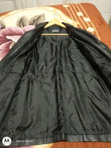 Jaqueta de couro original feminino - Foto 2