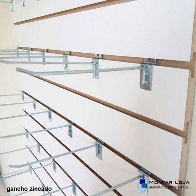 Painel canaletado branco - 180,00 o m2 - Foto 3
