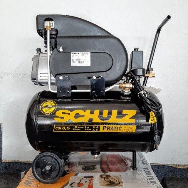 Compressor CSI 8,5 - 25Litros - 120Libras - Foto 5