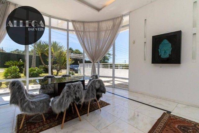 Casa com 5 quartos, 4 suítes, 2 piscinas privativas, à venda, 750 m² por R$ 4.400.000 - Ca - Foto 16