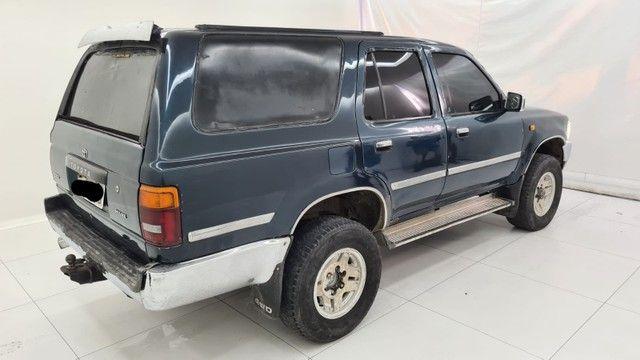 Raríssima Hilux sw4 2.8 4x4 diesel  1994 - Foto 3
