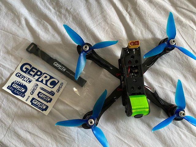 Kit Drone Racing FPV  ou troca  - Foto 4