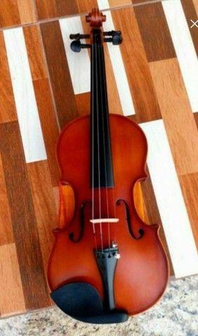 Violino Clássico Novo 4/4 - Foto 4