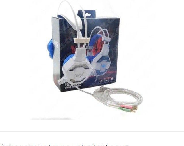 Fone De Ouvido Gamer Para Pc Celular Ps4 Headset Altomex - Foto 2