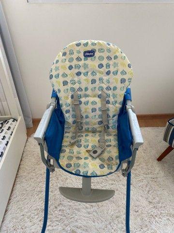 Cadeira de alimentação Chico semi nova  - Foto 3