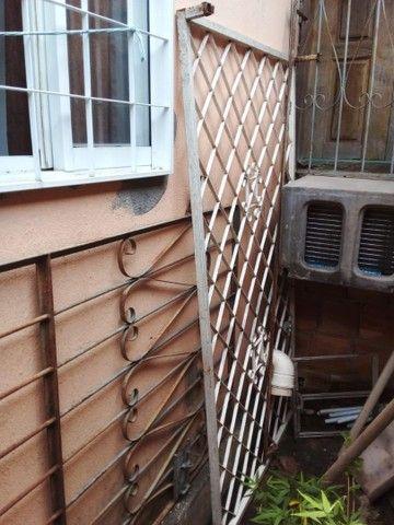 Grade de ferro porta e janela