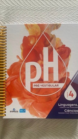 Livros sistema PH pré vestibular novos e semi - novos - Foto 5