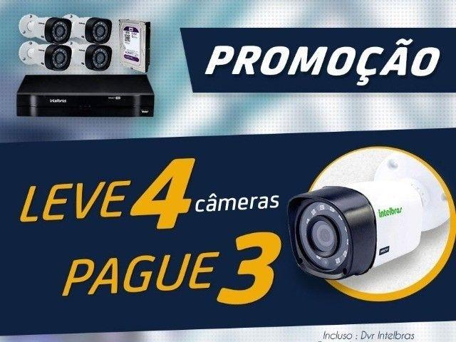 Cameras de Segurança 4 cameras - Foto 2