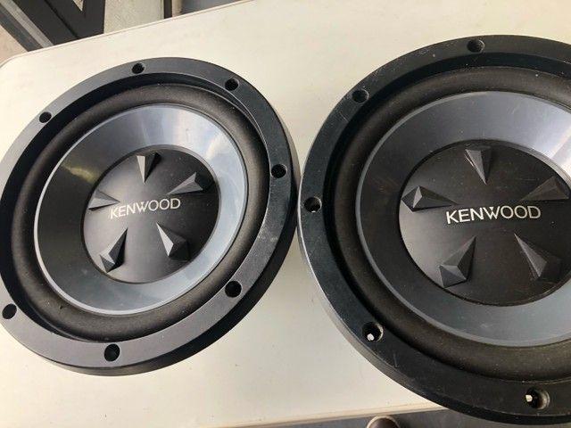 Auto falantes de 12 pol kenwood 800 wats - Foto 4
