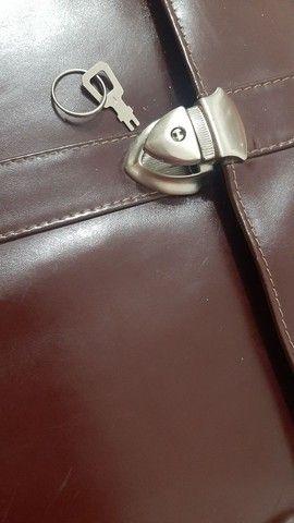 Bolsa em couro - Foto 5
