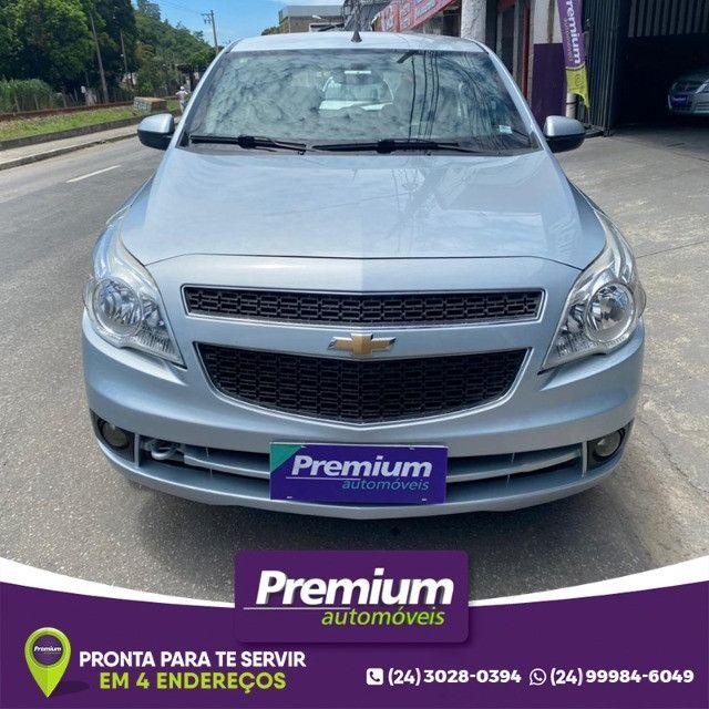 Chevrolet Agile 1.4 Ltz Gnv Prata Ano 2011 Super Novo - Foto 5