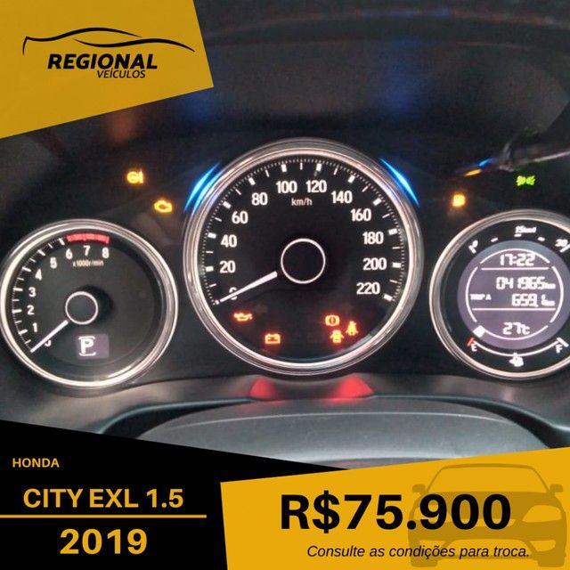 CITY Sedan EXL 1.5 Flex  16V 4p Aut. - Foto 11