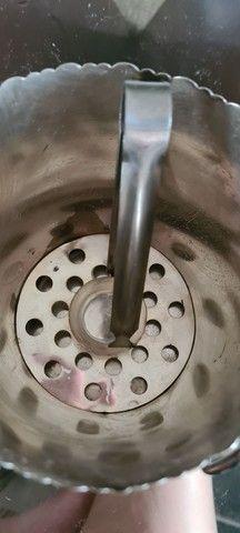Conjunto dr pegador de gelo em prata - Foto 2
