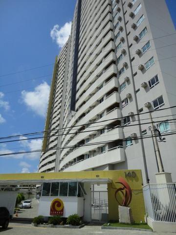 Apartamento em Ponta Negra de 2q/2b com vista panorâmica