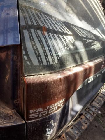 Pajero Sport ano 2004 diesel 4x4 sucata peças