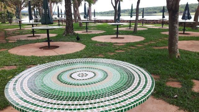 Tampo de mesa mosaico varios modelos sob medida - Foto 4