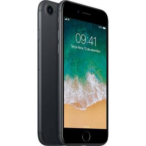 IPhone 7 128GB Preto Matte Ótimo Estado Com Nota Fiscal E Garantia