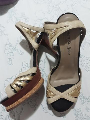 715076e19 Sandália Carmen Steffens 36 - Roupas e calçados - Plano Diretor Sul ...