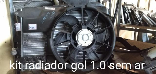 Kit radiador gol G3 e G4