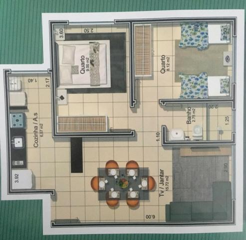 Lindo Apartamento no Taiaman barato D+ - Foto 18