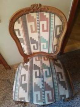 Cadeira estilo Luix XV - Foto 4