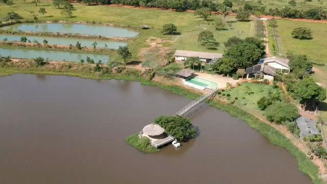 Fazenda Estilo pousada muito top em Livramento com piscina, muito pasto, represas e lago - Foto 4