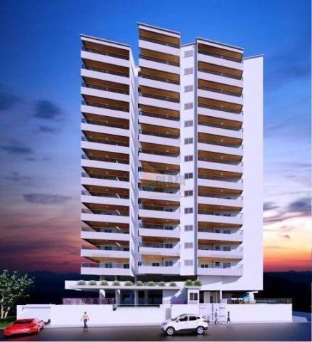 Apartamento à venda, 86 m² por r$ 425.927,00 - vila guilhermina - praia grande/sp - Foto 2