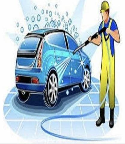 Lavador e preparador de carros