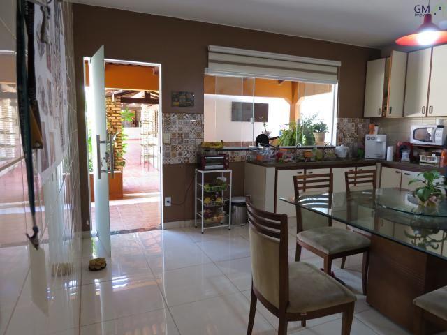 Vendo casa no setor de mansões, 3 quartos / suíte / piscina / churrasqueira / próximo a ca - Foto 9