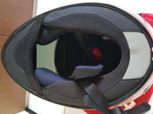 Capacete MT Helmets Revenger 58 + Viseira Camaleão - Foto 5