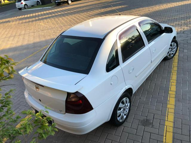 Corsa sedan premium 1.4 completo 2008 , sem entrada - Foto 5