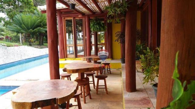 Re/max aluga para temporada casa térreo localizado no distrito de vale verde. - Foto 5