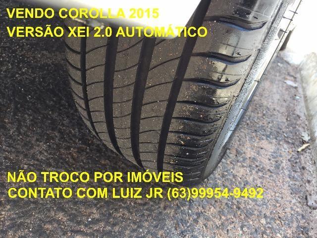 Corolla Xei 2015 - 04 pneus Michelin Zero - Documento pago - Estado de Zero - Foto 19