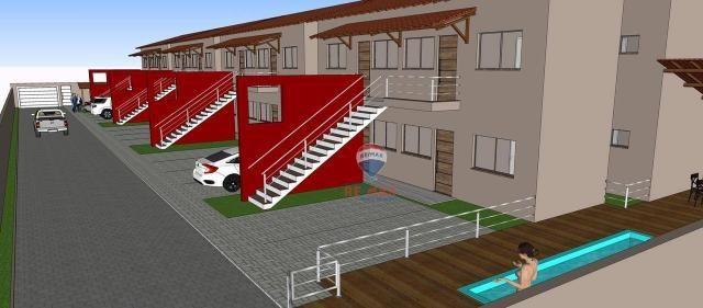 Apartamento com 2 dormitórios à venda, 65 m² por r$ 165.000,00 - cambolo - porto seguro/ba - Foto 6