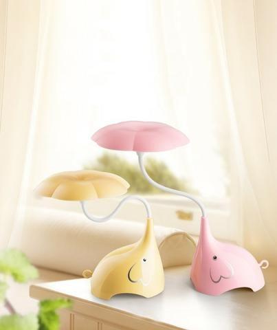 Luminária De Mesa USB Em formato de Elefante Touch Led - Foto 2