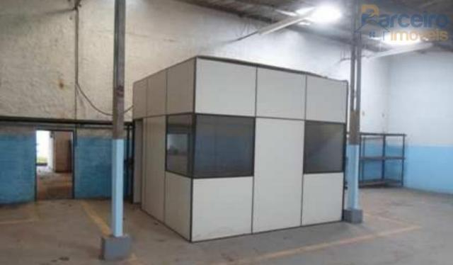 Galpão para alugar, 1439 m² por r$ 7.800,00/mês - jardim egle - são paulo/sp - Foto 12