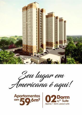 Oport. Apartamento - Nascer do Sol - em Americana