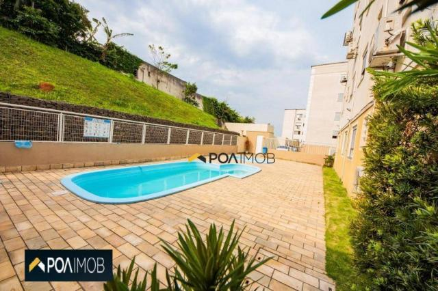 Apartamento com 2 dormitórios para alugar, 54 m² por R$ 1.800,00/mês - Protásio Alves - Po - Foto 20
