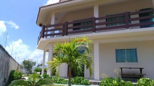 Casa com 3 dormitórios à venda, 180 m² por R$ 420.000,00 - Loteamento Praia Bela - Pitimbú - Foto 3