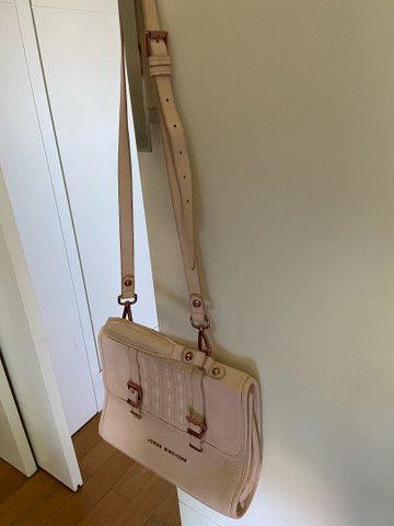 Bolsa feminina JORGE BISCHOFF rosa, original e em excelente estado  - Foto 3