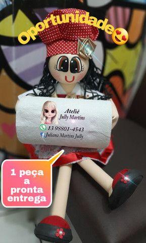 Boneca Porta Papel Toalha - Foto 2