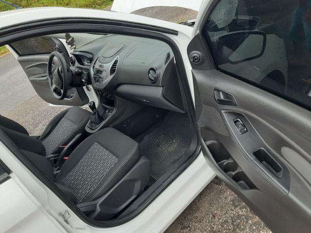 Ford KA SE 4 portas completo Flex com gnv ano 2018 - Foto 14