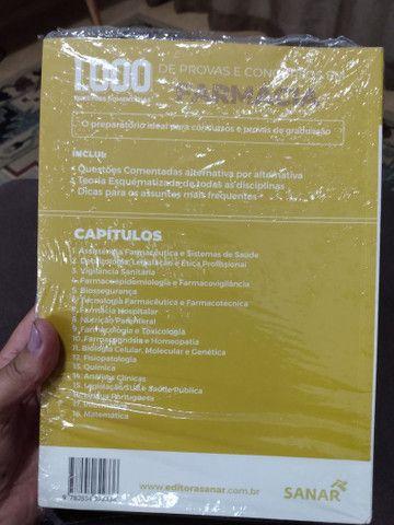 Livro 1.000 Questões Comentadas de Farmácia - Foto 2