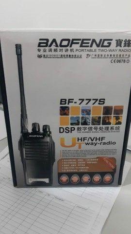 RÁDIO COMUNICADOR transmissor walk talk BF777S.  GARANTIA é nota . Receba hoje . - Foto 4